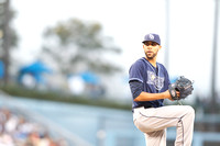 David Price pitch @ L.A. Dodgers on 08/09/13.